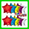 AH-8142 Factory Outlets wholesale 24inch BIG STAR shape multi-colors aluminium foil balloons for wedding decoration
