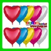 AH-8143 Factory wholesale 24inch and 36inch BIG LOVE HEART shape multi-colors aluminium foil balloons for wedding decoration