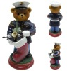 Action figure toy soldier bear