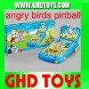Angre small birds pinball with music flash light and score indicator