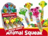 Animal Squeak candy toy