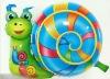 Animal foil balloon-green snail