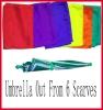 Appear Umbrella,Magic umbrella,Tricks,Color Cloth