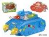Baby b/o plastic tank toy  BZC103556