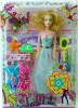 Beautiful Plastic Girl Doll Toy