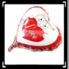 Beautiful!! Red Wedding Heart-Shaped Balloon With Two Bears