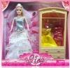 Beautiful bubbly dolls with changeable clothes