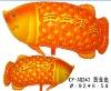 Beauty Gold fish Party Balloon