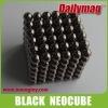 Black NdFeB Magnet Neocube