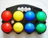 Boules Set/Plastic French Boules Set/8pcs Plastic Boule ball set