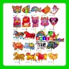 """CUSTOMIZED OR SMALL WHOLESALE STOCK MIX STYLES NEW 18"""" HOT SALE ADVERTISING ALUMINUM inflatable fish balloon"""