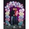 Candy Heart Balloon Arch