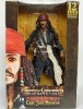 "Captain JACK SPARROW Pirates of Caribbean Talking Action Figure 12"""