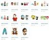 Cartoon Animation toys