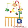 Cartoon acousticcontrol baby bed toy