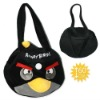 Cartoon bird black hand bag B