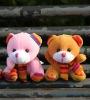Cheap plush bears with cute scarfs,plush wedding toy,plush cute teddy bear,bee bear plush toys