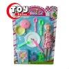 Children Cutlery Set With Fashion Doll