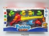 Children magnetic fishing toy with net .FM0210592