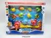Children magnetic fishing toy with net .FM0210594