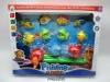 Children magnetic fishing toy with net .FM0210595