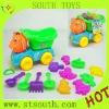 Children plastic sand beach car