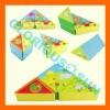 Children's plastic cube link