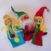 Christmas Wood Finger Puppet