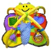 Colorful butterfly shape cute baby play gym mat