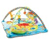 Colurful soft cotton baby play mat with pillow