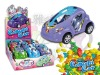 Concept car with friction function toy candy