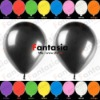 Cool Party Decorations Various Colors Metallic Helium Latex Balloons