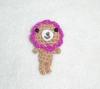 Crochet phone charm dolls/HC-D-95
