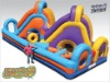 Crossover Course  Inflatable Toys