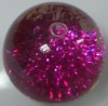 Crystal bouncing ball