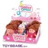 "Cute 10"" fragrance plastic baby dolls 9pcs/display box"