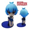 "Cute ! Evangelion EVA Rei 4"" Figure Brand New"