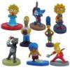 Cute ! The Simpsons Mini Figure Set of 8pcs Brand New
