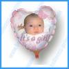 DIY Printed Balloons--Heart Foil Balloons