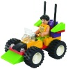 DQ2012-F8--building block toy car