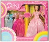 Daisy pretty princess dress & doll accessory