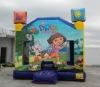 Dora the Explorer inflatable bouncer