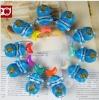 Doraemon jingle fish figures toys 10pcs/set