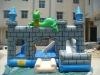 Dragon inflatable castle
