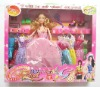 Dressing-up Fashion Girl doll Toy