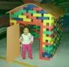 EVA building block for house