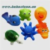 Eco-Friendly material rubber toys baby bath toys