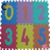 Eco-friendly EVA Number Puzzle Mat for Kids