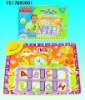 Educational baby blankets music carpet toys