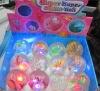 Elastic glitter water ball toy
